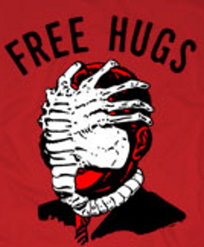 Free Hugs Creeper T-Shirt
