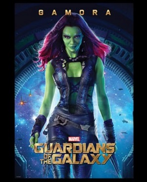 Gamora Guardians of the Galaxy T-Shirt