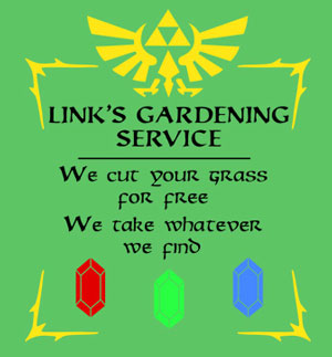 Links Gardening Service T-Shirt