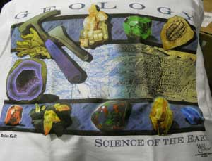 Geology Science of the Earth T-Shirt