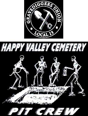 Happy valley Cemetary Pit Crew Shirt