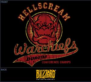 Hellscream Warchiefs Shirt
