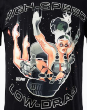 Hi Speed Low Drag Bawidamann Pinup Shirt