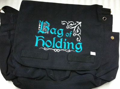 Bag of Holding Blue Messenger Bag