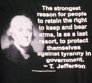 Jefferson Quote Shirt (Old Version)