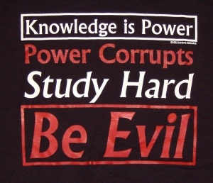 Knowledge is Power Shirt