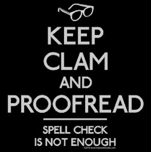 Keep Clam Proofread T-Shirt
