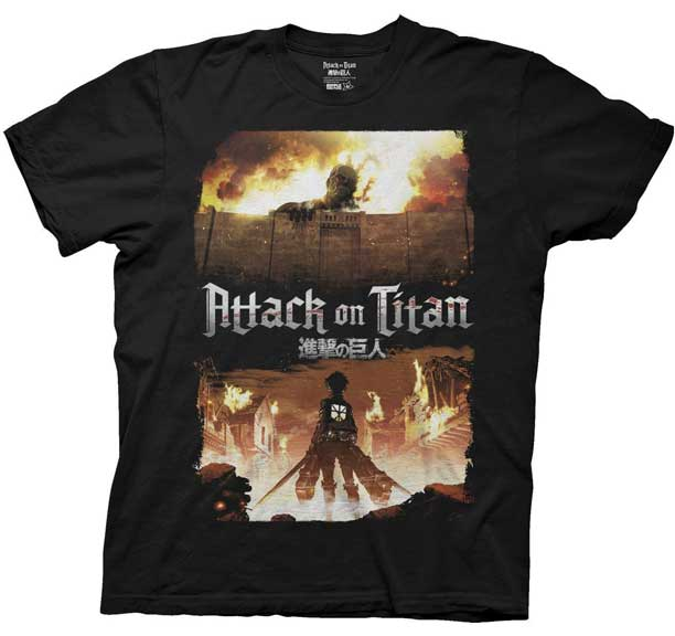 Attack on Titan Key Art T-Shirt