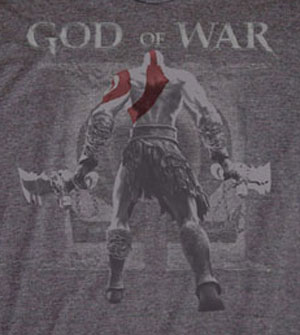 Kratos God of War II Shirt