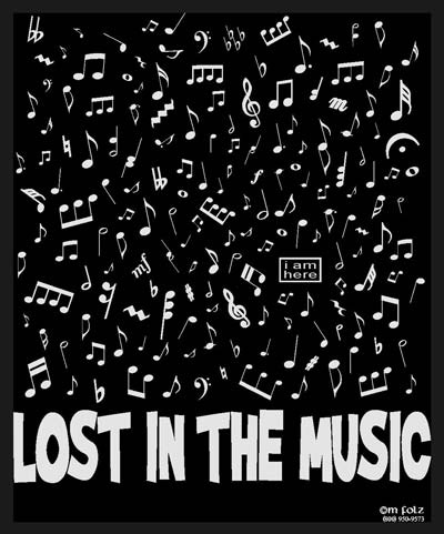 Lost in the Music Shirt
