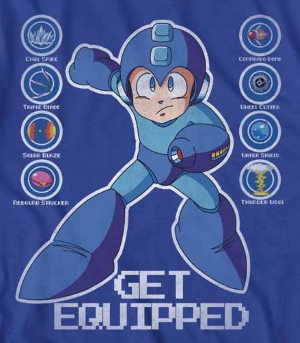 Megaman Get Equipped T-Shirt