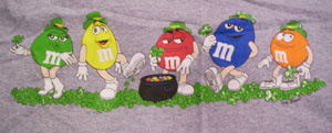 M&Ms Lucky Ms