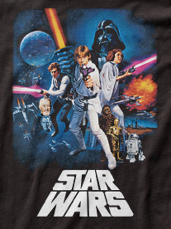 A New Hope Star Wars Poster T-Shirt