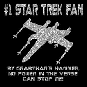 Number One Trek Fan T-Shirt