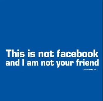 This is not Facebook T-shirt