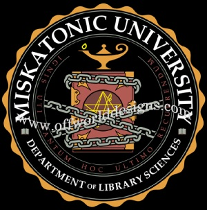Miskatonic Dept of Library Sciences T-Shirt