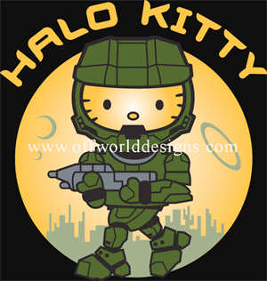 Halo Kitty T-Shirt