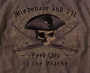 Misbehave Pirate Shirt