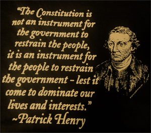 Patrick Henry Quote Shirt
