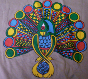 Celtic Peacock Shirt
