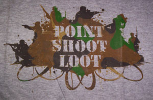 Point Shoot Loot Shirt
