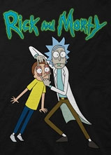 Rick and Morty Look T-Shirt