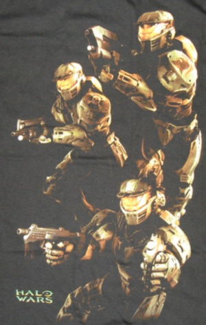 Halo Wars Ready Aim Fire T-Shirt
