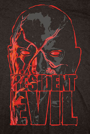 Resident Evil Zombie Red Eyes Shirt