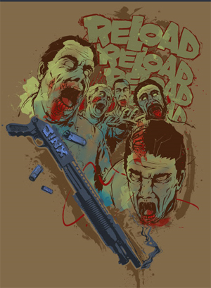 Reload Zombie Shirt