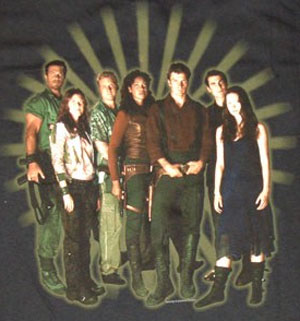Serenity New Cast Shirt