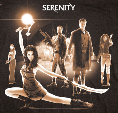 Serenity Movie Poster Shirt