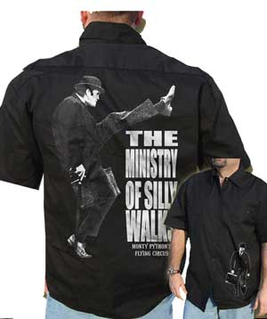 Monty Python Ministry of Silly Walks WorkShirt