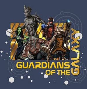 GOTG Star Map T-Shirt