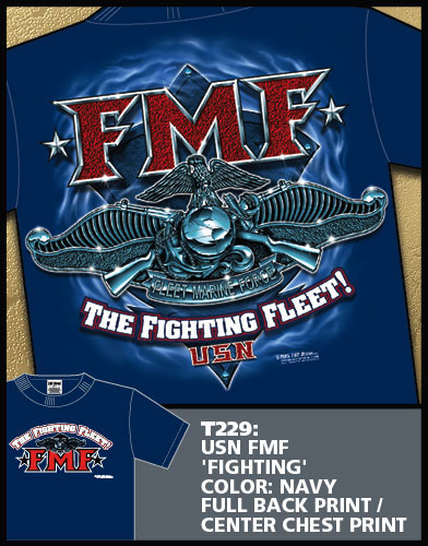 Navy FMF Fighting Fleet Shirt
