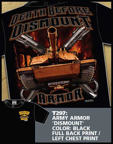 Death Before Dismount Army Armor Shirt