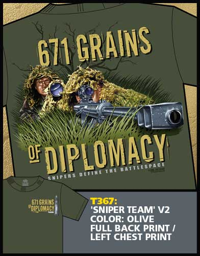 671 Grains of Diplomacy Shirt