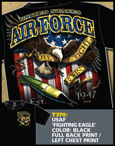 Air Force Fighting Eagle Shirt