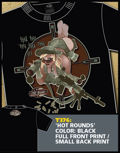Hot Rounds Pinup Shirt