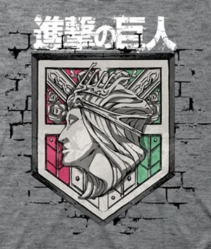 Attack on Titan Shield T-Shirt
