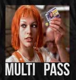 Multipass Fifth Element T-Shirt