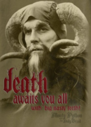 Tim the Enchanter Death Awaits Shirt