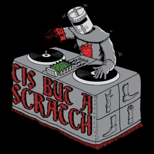 Tis But a Scratch Black Knight T-Shirt