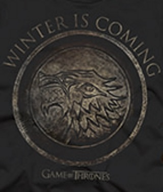 Winter is Coming House Stark T-Shirt