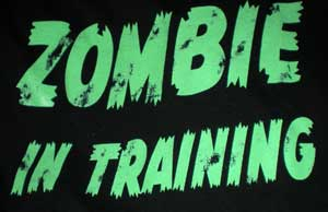 Zombie in Training T-Shirt