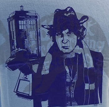 4th Doctor Tom Baker T-Shirt