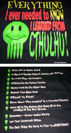 Everything Cthulhu Shirt