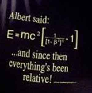 Albert Said E=MC2 Shirt