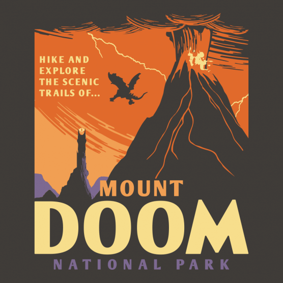 Mt Doom National Park T-Shirt