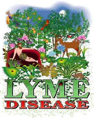 Lyme Disease T- Shirt 100% Cotton
