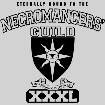 Necromancer's Guild Shirt